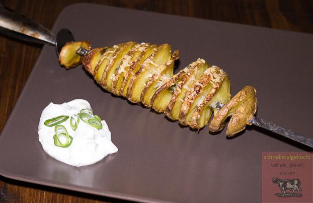 Tornado Potato Snack Parmesan Dip