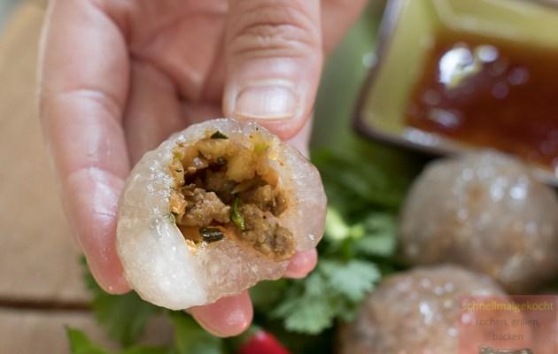 Saku Sai Moo- Thai Dumplings