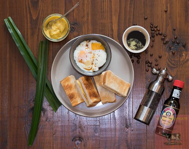 Singapur Frühstück