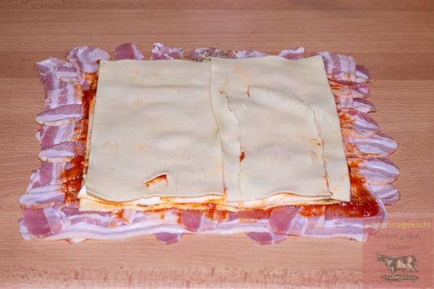 Gegrillte Lasagne