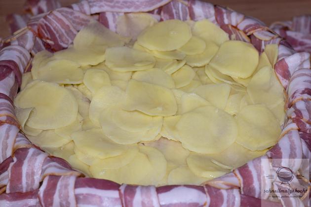 Bacon Kartoffel Pie