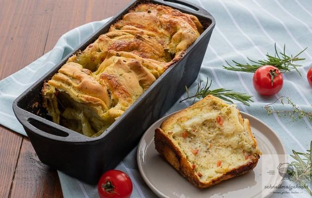 Mozzarella Wrap Zupfbrot