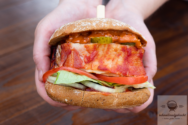 Bacon Bomb Burger