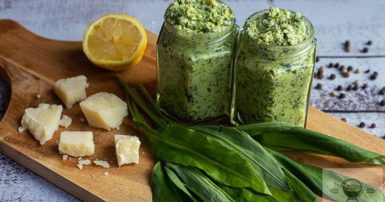 Bärlauch Parmesan Butter