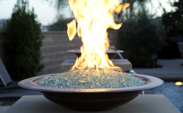 Tempered Glass Fireplace Fire Glass - Schneppa Recycled Crushed Glass