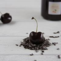 Schokoladen-Kirsch-Marmelade