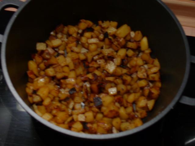 Chicoree,Kartoffeln,gebackener Feta (19)