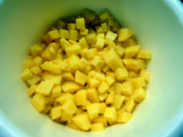 Chicoree,Kartoffeln,gebackener Feta (6)
