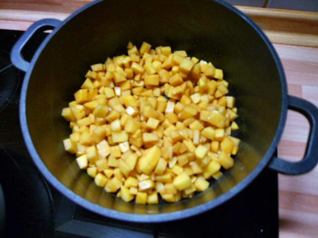 Chicoree,Kartoffeln,gebackener Feta (9)