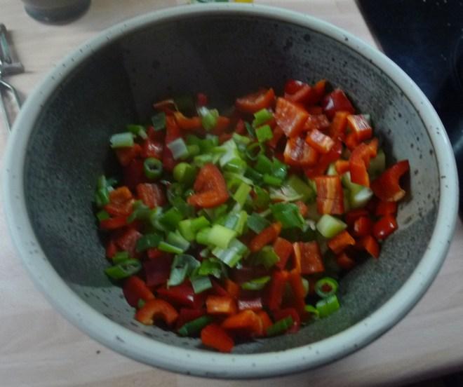 KartoffelSelleriepü,Tunesischer Salat,geräucherte Forelle -3.12.2014 (4)