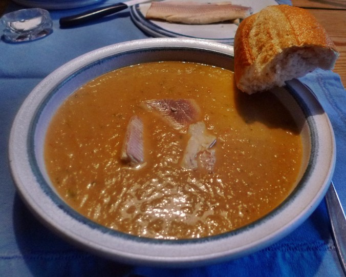 Fenchelsuppe mit Forelle-12.3.15    (12a)