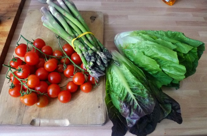 Kabeljau,Spargel,Nudeln,Salat, 16.4.15   (5)