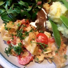 Pastinaken,Kartoffelstampf,Feldsalat,vegetarisch - 2.1.16 (13)