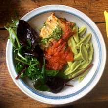 10.2.16 - Kabeljau,Tomatensoße,Salat (25)