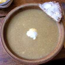 13.2.16 - Grünkernsuppe,Rote Bete,Büffelmozerella,Feldsalat,vegetarisch (6)