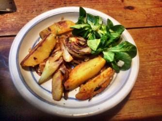 20.2.16 - Fenchel,Zwiebel,Kartoffel,Salat,vegan, (18)