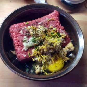 10.3.16 - gefüllte Zucchini,Tomatensoße,Reis,Salat (8)