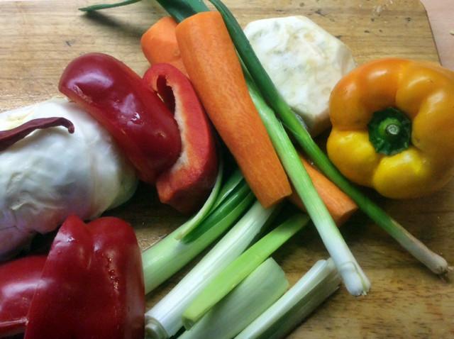 12.3.16 - Kichererbsen-Gemüse Eintopf,Indische Art,vegan (4)