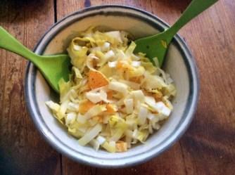 17.3.16 - Spaghetti mit Gorgonzolasauce,Chiccore Salat (12)