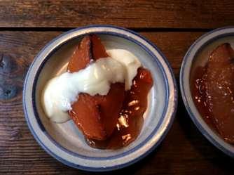 20.3.16 - Kartoffelsalat,pchiertes Ei,Quitten Dessert,vegetarisch (21)
