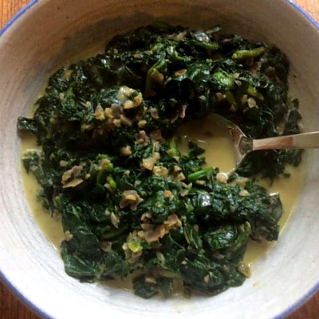 24.3.16 - Spinat,Rührei,Kartoffel,vegetarisch (1b)