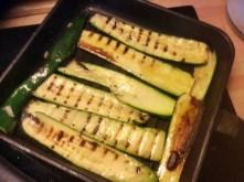 8.3.16 - Zucchini,Paprikasalat,Gurkensalat,Kartoffeln,Spiegelei (10)