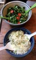 11.4.16 - Brathering,Salate,Kartoffeln,pescetarisch (5)