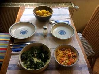 26.4.16 - Spinat,Rührei,Kartoffeln,vegetarisch (11)