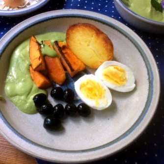 28.4.16 - Ofenkartoffeln,Feta-Bärlauchcreme (11)