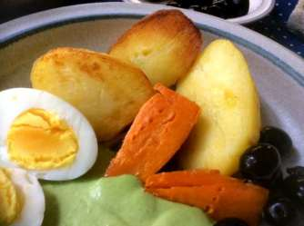 28.4.16 - Ofenkartoffeln,Feta-Bärlauchcreme (15)