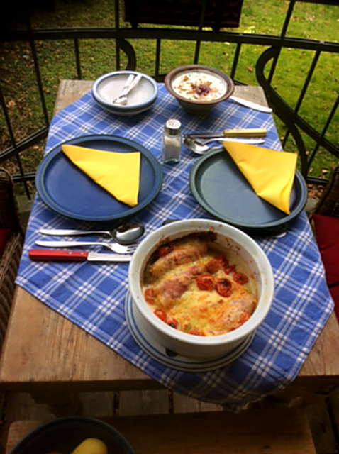 4.4.16 - Überbackener Chicoree,Kartoffeln,Quarkspeise (1)