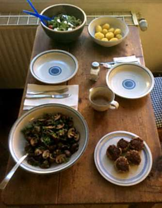 8.4.16 - Champignon,Frikadellen,Salat,Kartoffeln (10)