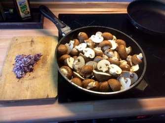 8.4.16 - Champignon,Frikadellen,Salat,Kartoffeln (6)