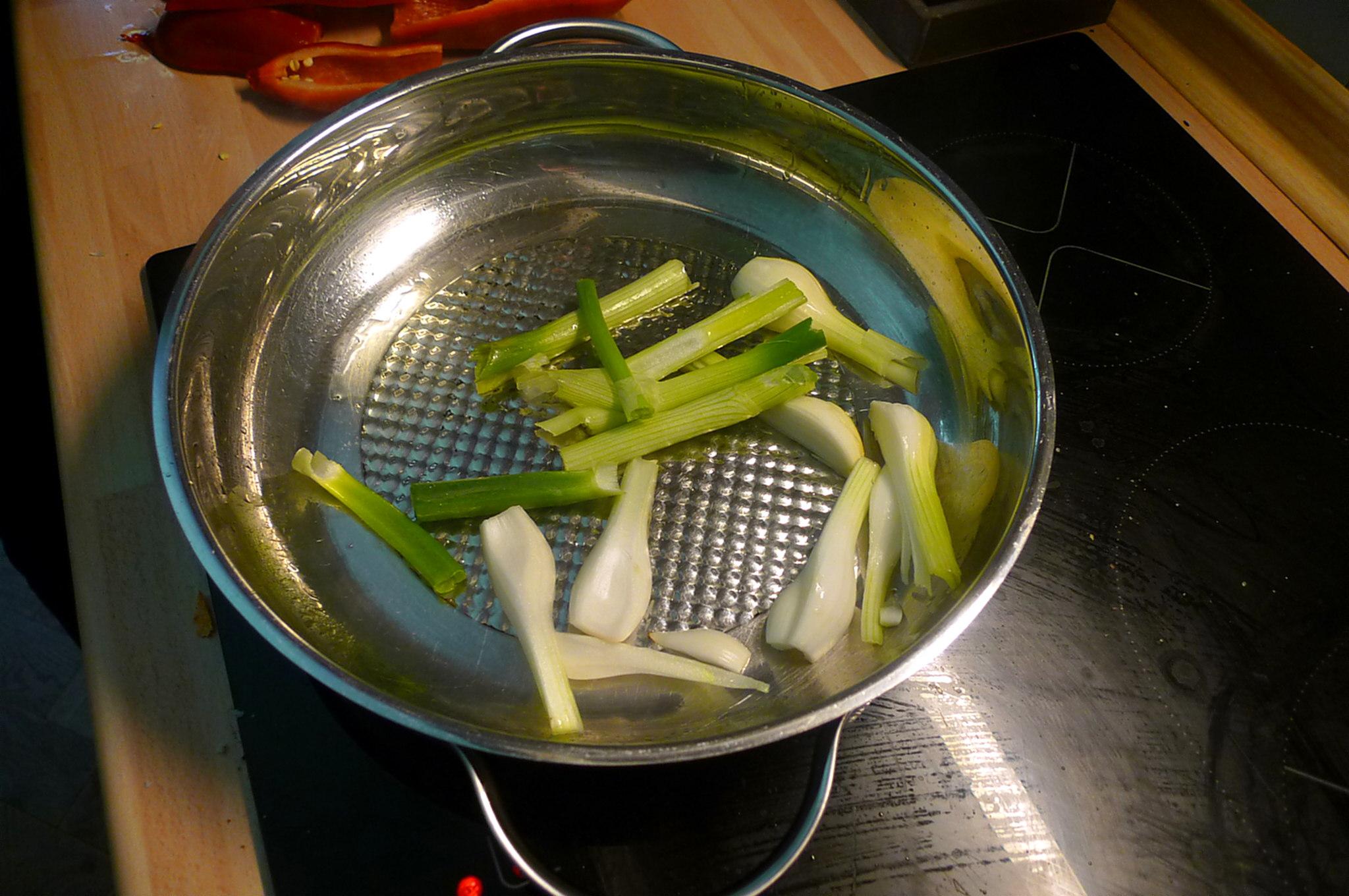 31.5.16 - Paprikapfanne,Zucchini,Süßkartoffelstampf (5)
