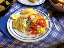 7.5.16 - Schollenfilet,Salaat,Kartoffel,pescetarisch (13)