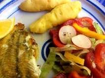 7.5.16 - Schollenfilet,Salaat,Kartoffel,pescetarisch (14)