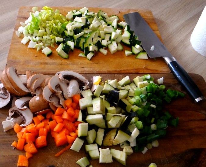 Gemüsesuppe mit Nudeln (5)