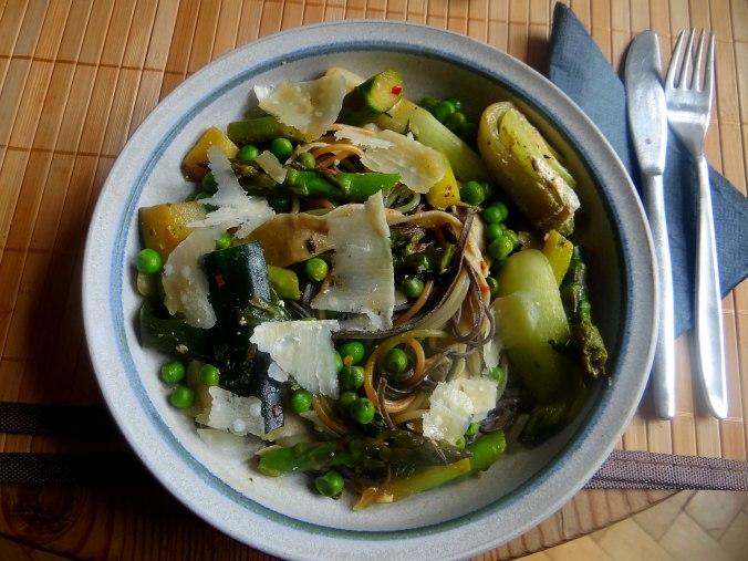 Gemüse Allerlei,Nudel Mix,vegetarisch (17)