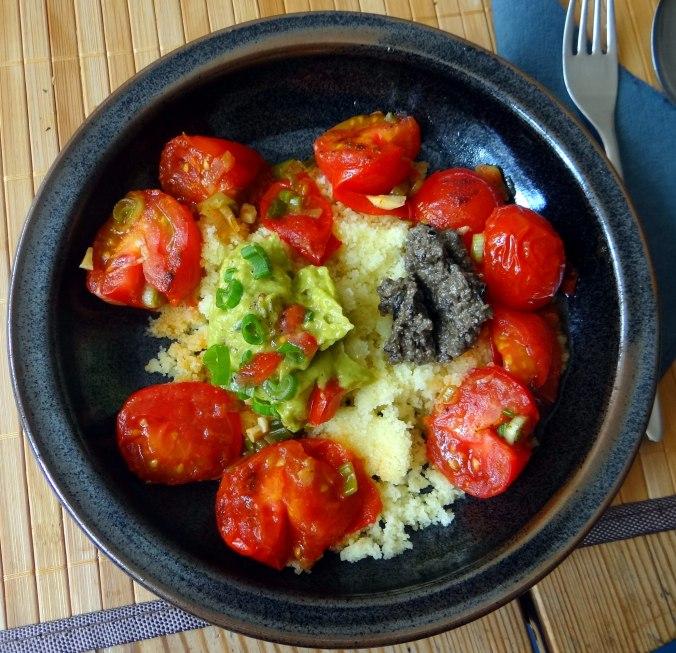 Tomaten Sugo,Couscous,Papardelle,Guacamole (2)