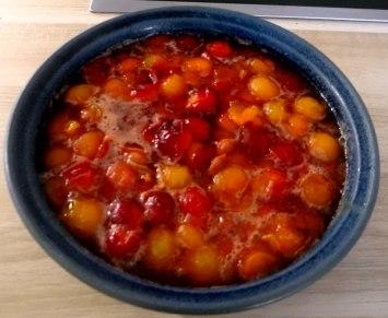 Quark,Pellkartoffeln,Kohlrabisalat,Roemersalat,Dessert (14)