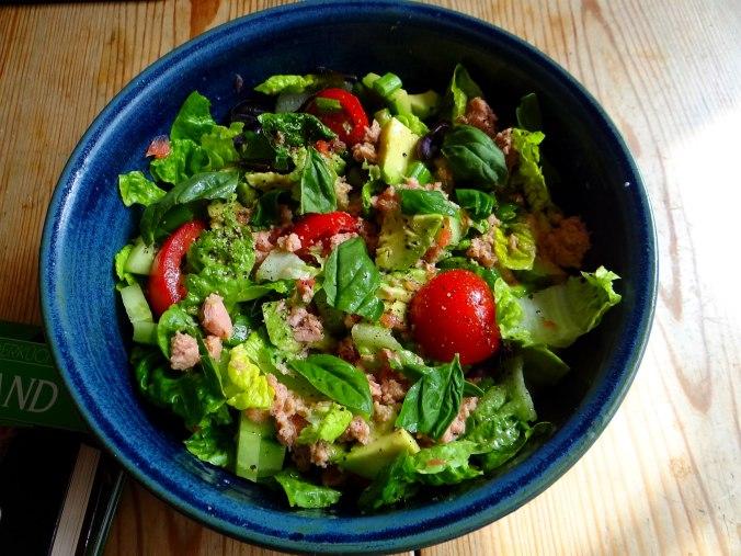 Buchweizen Pfannkuchen,Salat,pescetarisch (9)