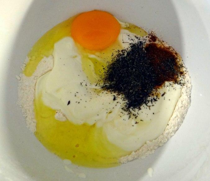 Herrzhafte Muffin,Rote Beete Salat,Geschmorte Radieschen,Tomaten mit Mozarella,Römersalat (10)