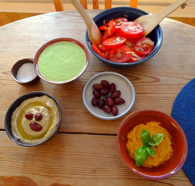 Orientalische Spezialitäten,Baba Ganoush,Süßkartoffel Pommes (18)
