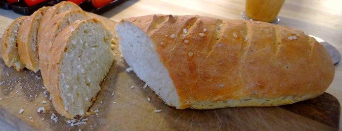 Miesmuscheln,Baguette,Quark-Schlehen Dessert (16)