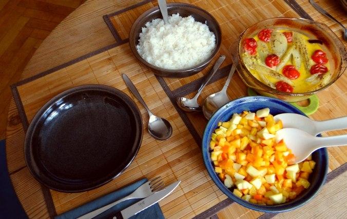 Fenchel,Tomate,Wein,RiiJii Reis,Obstsalat (3)
