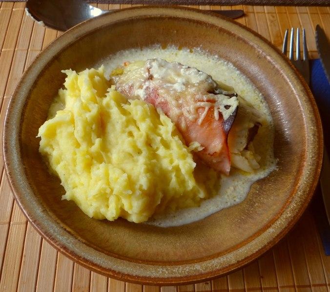 Chicoree mit Schinken und Kartoffelstampf (12)