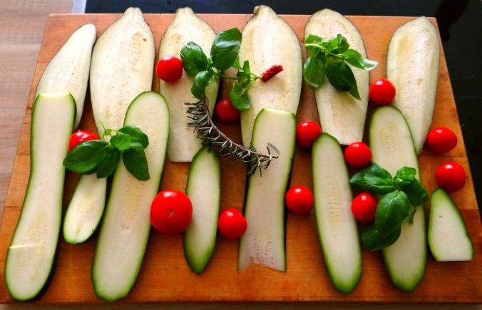 AuberginenZucchini aus dem Ofen (6)