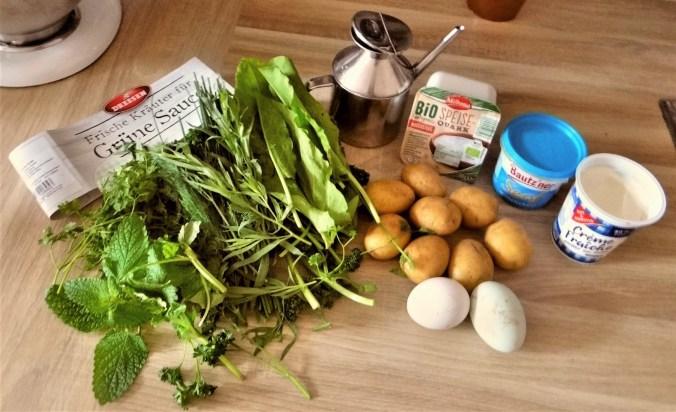 Grüne Soße mit Pellkartoffeln (4)