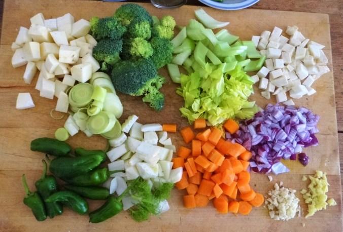 Gemüsesuppe,Süßkartoffel,Kokosmilch (7)