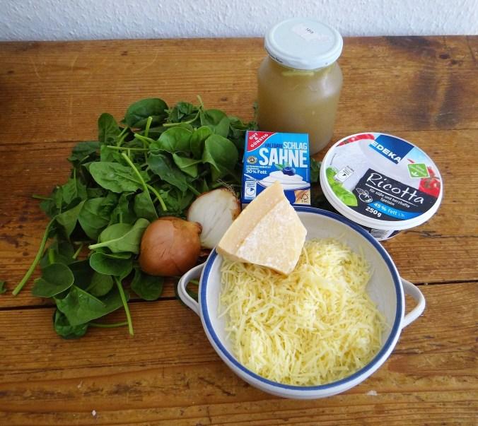 Spinatsuppe,Ricotta Nochen,Bunter Salat (6)